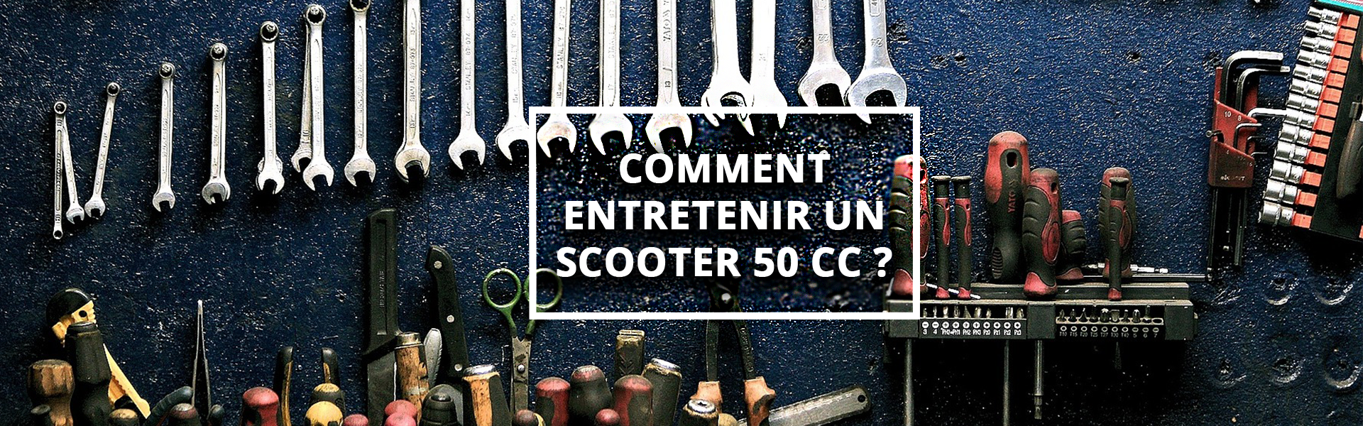 Comment entretenir un scooter 50cc-1